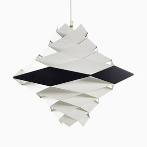 Symfoni Ceiling Light by Preben Dahl for Hans Følsgaard Elektro A/S, 1960s