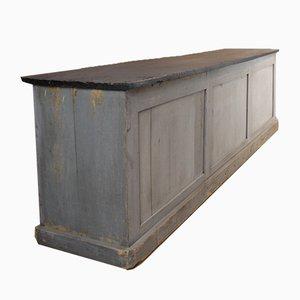 Mostrador vintage de madera, años 30