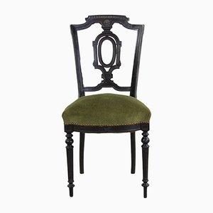 Antike französische Napoleon Esszimmerstühle, 2er Set