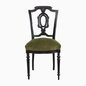 Antique French Napoleon Dining Chairs, Set of 2