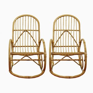 Rocking Chairs, 1960, Set of 2