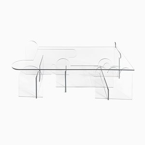 Invisible Perspective Table by Morgan Spaulding