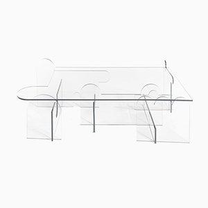 Tavolo Prospect Invisible di Morgan Spaulding