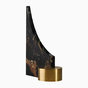 Brass & Granite Bookend by William Guillon