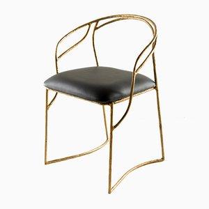 Handgefertigter Stuhl aus Messing von Misaya