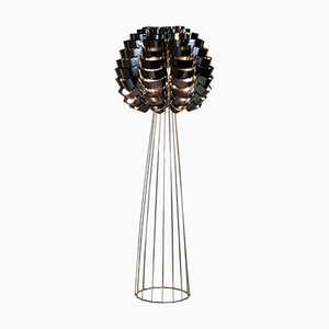 Black Orion Floor Lamp by Max Sauze, 2016