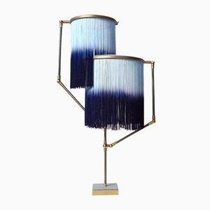 Blaue Charme Tischlampe von Sander Bottinga