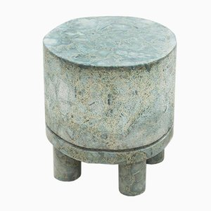 Diabase Volcanic Rock Side Table by Rooms
