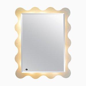 Italienischer Spiegel von ISA Bergamo, 1970er