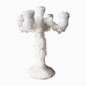 Candelabro Overgrown con cristalli di Mark Sturkenboom, 2019