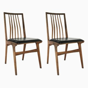 Vintage Windsor Chairs, 1960s, Set of 2