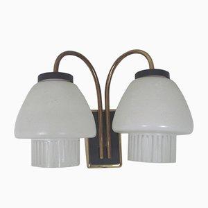 Modernistische Wandlampe, 1960er