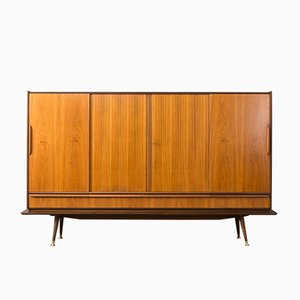 Deutsches Mid-Century Highboard, 1950er