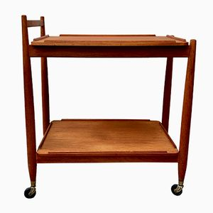 Vintage Teak Drinks Trolley by White & Newton, 1960s