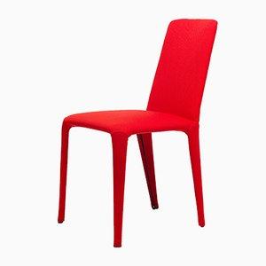 Silla Nova en rojo de Federico Carandini para Epònimo