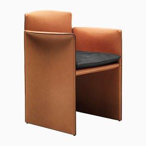 Kleiner O Armlehnstuhl von Alberto Colzani für Epònimo