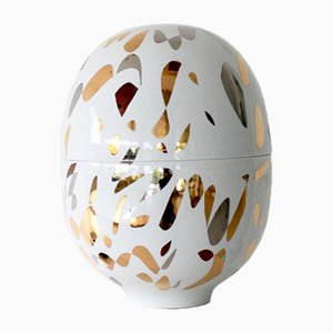 Large Infinity Porcelain Vase by Mari JJ Design