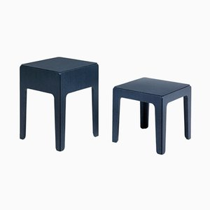 Wood Side Tables by Alberto Colzani for Epònimo, Set of 2