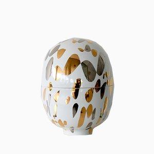 Medium Infinity Porcelain Vase by Mari JJ Design