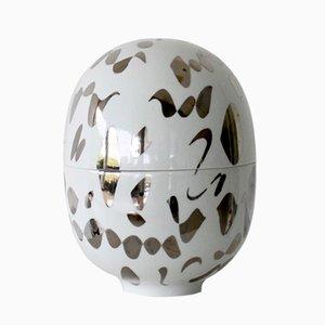 Petit Vase Infinity en Porcelaine par Mari JJ Design