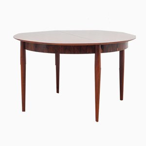 Expandable Rosewood Dining Room Table from Lübke, 1960s