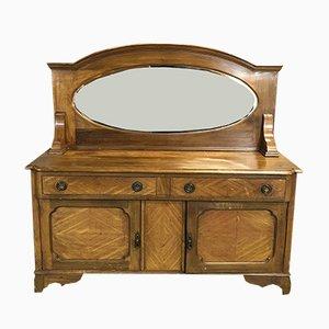 Mueble victoriano pequeño de caoba