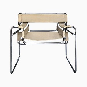 Bauhaus B3 Wassily Chairs by Marcel Breuer for Knoll International, 1971, Set of 2