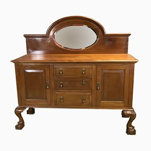 Vintage Mahogany Chippendale Sideboard, 1920s