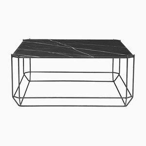 Table Basse Jewel avec Plateau en Marbre Noir par Louise Roe pour Louise Roe Copenhagen