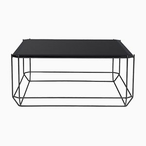 Jewel Coffee Table with Smoked Glass Top by Louise Roe for Louise Roe Copenhagen