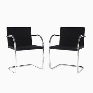 Brno Stühle von Mies Van Der Rohe für Knoll, 1970er, 2er Set