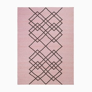 Pearl Rose Borg #04 Rug in Wool by Louise Roe for Louise Roe Copenhagen