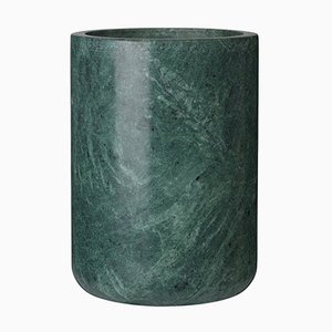 Green Marble Grace Vase by Louise Roe for Louise Roe Copenhagen