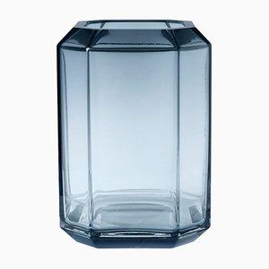 Jewel Vase Bleu par Louise Roe pour Louise Roe Copenhagen