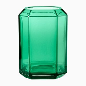 Green Jewel Vase by Louise Roe for Louise Roe Copenhagen