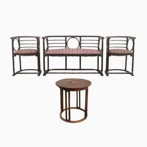 Mobilier de Salon Antique par Josef Hoffmann pour Mundus