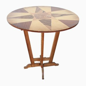 Table d'Appoint Ronde Vintage, 1960s