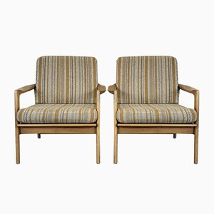 Mid-Century Danish Easy Chairs, Set of 2