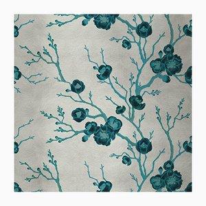 Cubierta mural de tela con cerezos 2 de Chiara Mennini para Midsummer-Milano