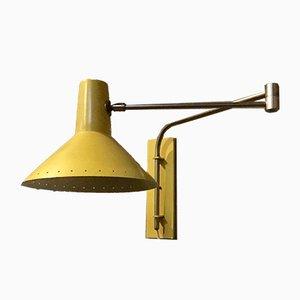 Lampada da parete regolabile di Artimeta, anni '50