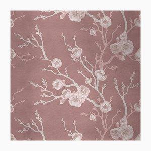 Сherry Tree 5 Wandverkleidung mit Stoffbezug von Chiara Mennini für Midsummer-Milano