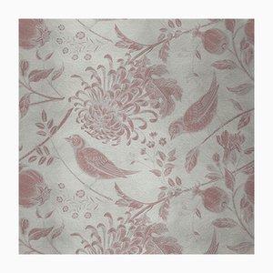 Revêtement Mural Flowers and Birds 3 en Tissu par Chiara Mennini pour Midsummer-Milano