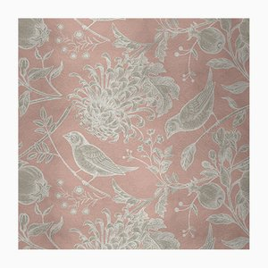 Flowers and Birds 5 Wandverkleidung mit Stoffbezug von Chiara Mennini für Midsummer-Milano
