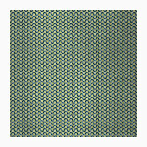 Geometric 4 Wandverkleidung mit Stoffbezug von Chiara Mennini für Midsummer-Milano