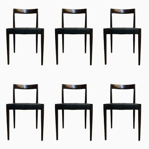 Mid-Century Teak Dining Chairs from Lübke, 1960s, Set of 6