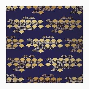 Carta da parati in tessuto Japanese 1 di Chiara Mennini per Midsummer-Milano