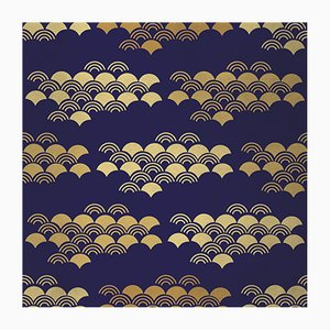Japanese 1 Wandverkleidung mit Stoffbezug von Chiara Mennini für Midsummer-Milano