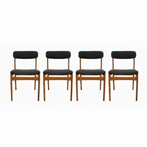 Mid-Century Dining Chairs from Thorsø Møbelfabrik, Set of 4