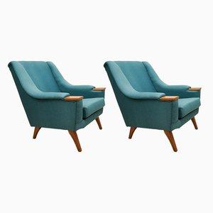 Dänische Mid-Century Sessel, 1960er, 2er Set