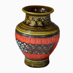 Vintage Fat Lava Vase